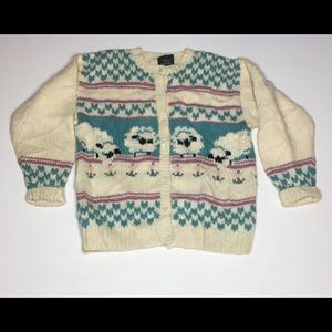 VTG Woolrich Sheep Sweater